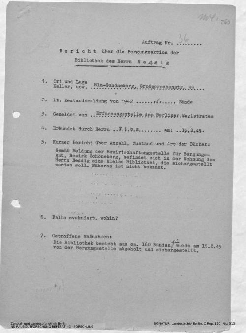 Landesarchiv Berlin, C Rep. 120 Nr. 513, Bl. 260