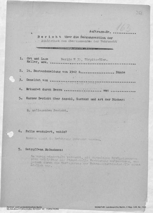 Landesarchiv Berlin, C Rep. 120 Nr. 513, Bl. 266