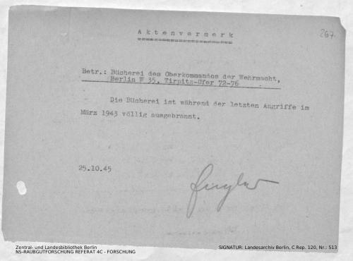 Landesarchiv Berlin, C Rep. 120 Nr. 513, Bl. 267