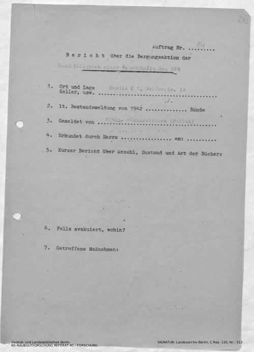 Landesarchiv Berlin, C Rep. 120 Nr. 513, Bl. 272