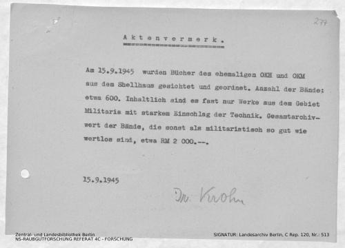 Landesarchiv Berlin, C Rep. 120 Nr. 513, Bl. 277
