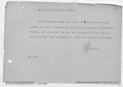 Landesarchiv Berlin, C Rep. 120 Nr. 513, Bl. 278