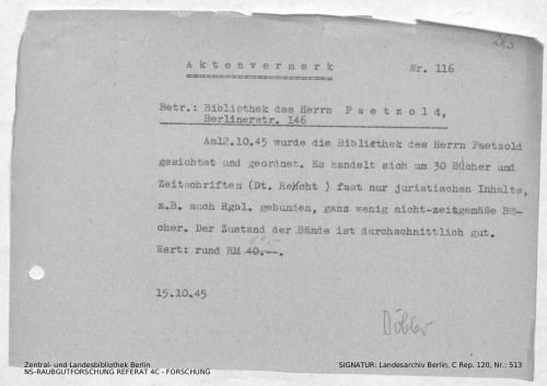 Landesarchiv Berlin, C Rep. 120 Nr. 513, Bl. 283