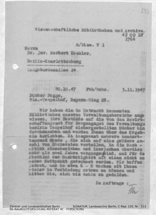 Landesarchiv Berlin, C Rep. 120 Nr. 513, Bl. 293
