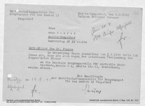Landesarchiv Berlin, C Rep. 120 Nr. 513, Bl. 292
