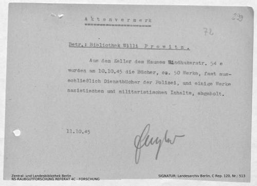 Landesarchiv Berlin, C Rep. 120 Nr. 513, Bl. 299