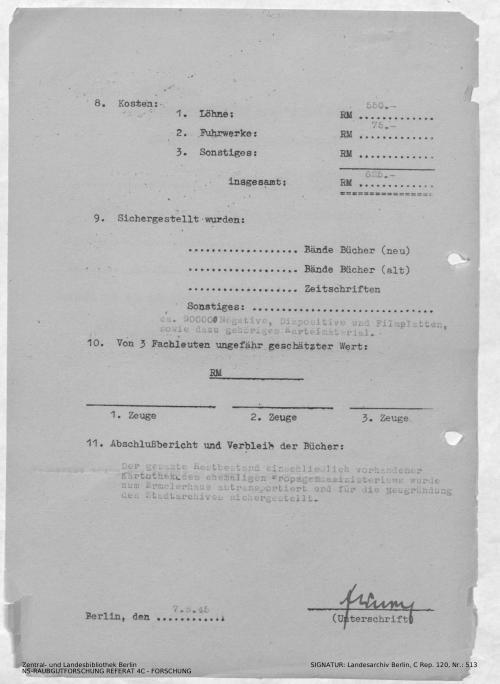 Landesarchiv Berlin, C Rep. 120 Nr. 513, Bl. 301