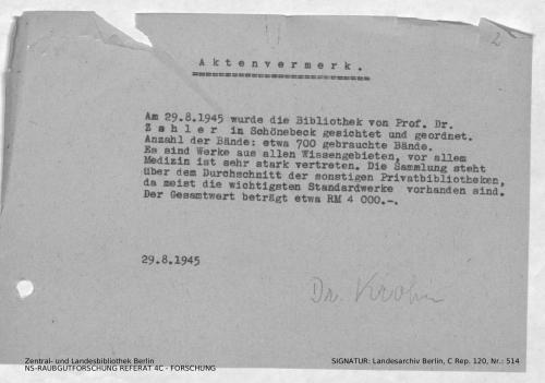 Landesarchiv Berlin, C Rep. 120 Nr. 514, Bl. 2