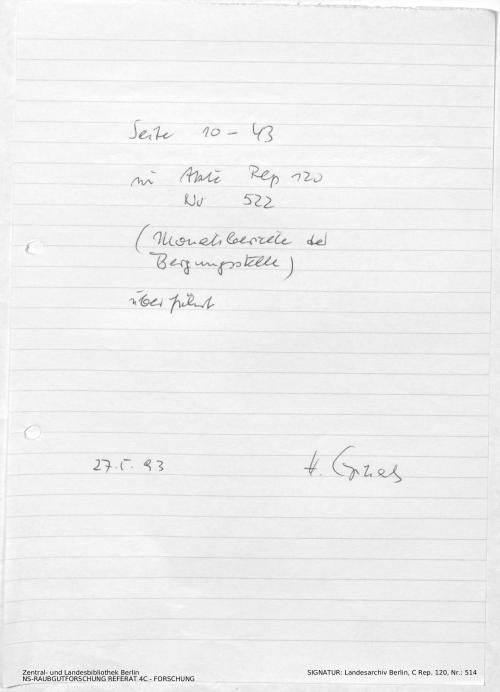 Landesarchiv Berlin, C Rep. 120 Nr. 514, Bl. [10-43]