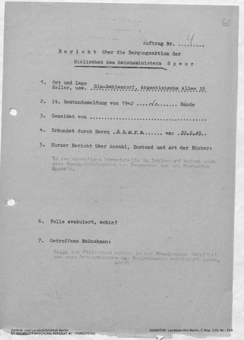 Landesarchiv Berlin, C Rep. 120 Nr. 514, Bl. 65
