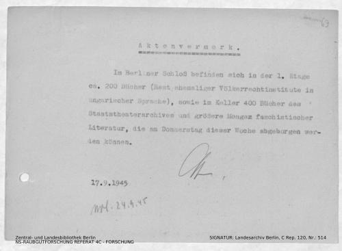 Landesarchiv Berlin, C Rep. 120 Nr. 514, Bl. 69