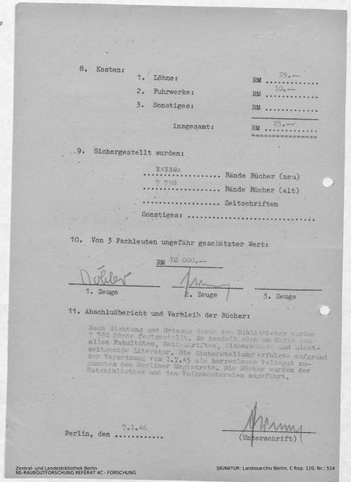 Landesarchiv Berlin, C Rep. 120 Nr. 514, Bl. 72