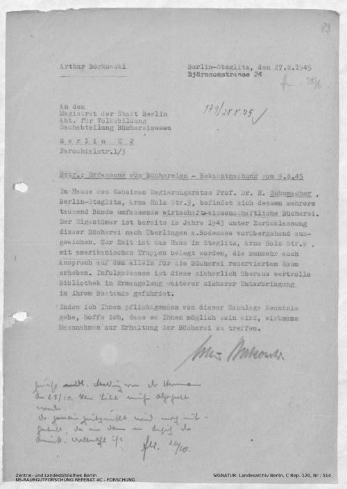 Landesarchiv Berlin, C Rep. 120 Nr. 514, Bl. 89