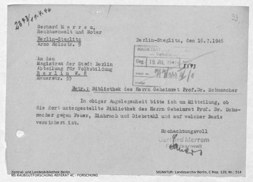 Landesarchiv Berlin, C Rep. 120 Nr. 514, Bl. 93