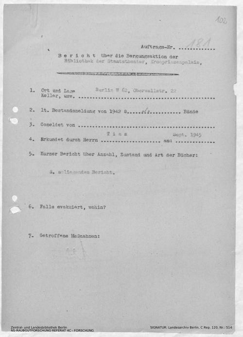 Landesarchiv Berlin, C Rep. 120 Nr. 514, Bl. 102