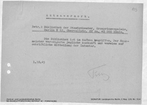 Landesarchiv Berlin, C Rep. 120 Nr. 514, Bl. 103