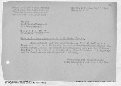 Landesarchiv Berlin, C Rep. 120 Nr. 514, Bl. 107
