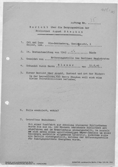 Landesarchiv Berlin, C Rep. 120 Nr. 514, Bl. 115