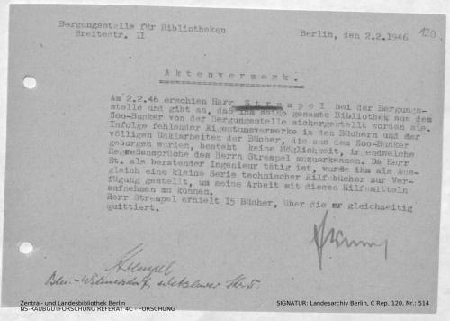 Landesarchiv Berlin, C Rep. 120 Nr. 514, Bl. 120