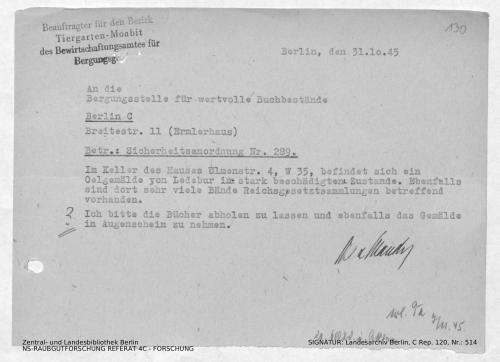 Landesarchiv Berlin, C Rep. 120 Nr. 514, Bl. 130
