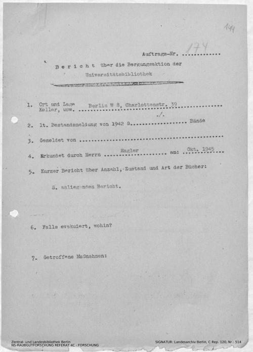 Landesarchiv Berlin, C Rep. 120 Nr. 514, Bl. 144