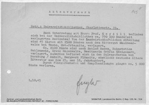 Landesarchiv Berlin, C Rep. 120 Nr. 514, Bl. 145
