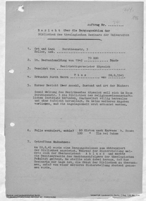 Landesarchiv Berlin, C Rep. 120 Nr. 514, Bl. 146