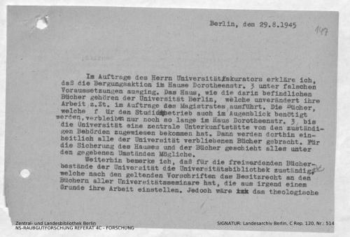 Landesarchiv Berlin, C Rep. 120 Nr. 514, Bl. 147