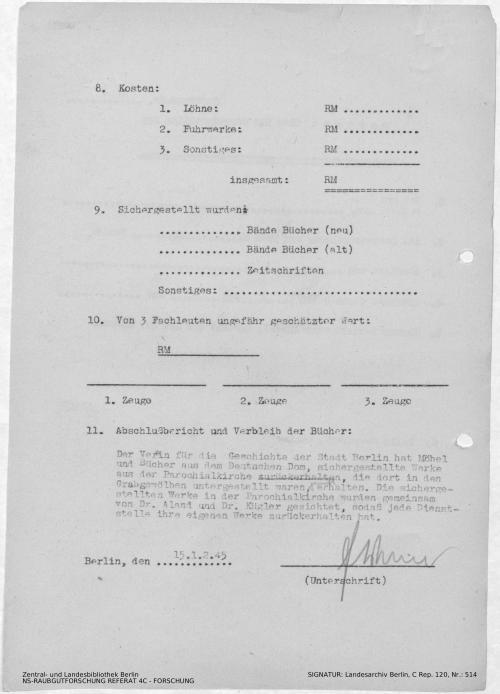 Landesarchiv Berlin, C Rep. 120 Nr. 514, Bl. 149