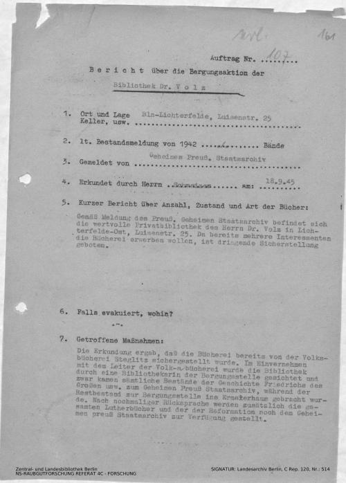 Landesarchiv Berlin, C Rep. 120 Nr. 514, Bl. 161
