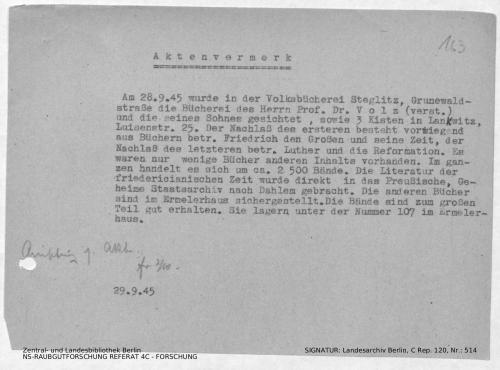 Landesarchiv Berlin, C Rep. 120 Nr. 514, Bl. 163