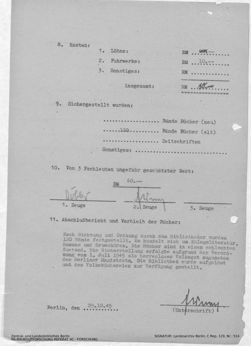 Landesarchiv Berlin, C Rep. 120 Nr. 514, Bl. 170