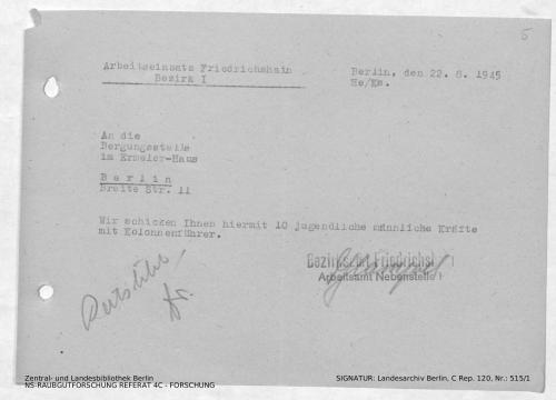 Landesarchiv Berlin, C Rep. 120 Nr. 515/1, Bl. 5