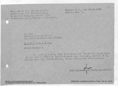 Landesarchiv Berlin, C Rep. 120 Nr. 515/1, Bl. 6