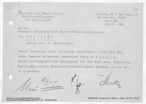Landesarchiv Berlin, C Rep. 120 Nr. 515/1, Bl. 27