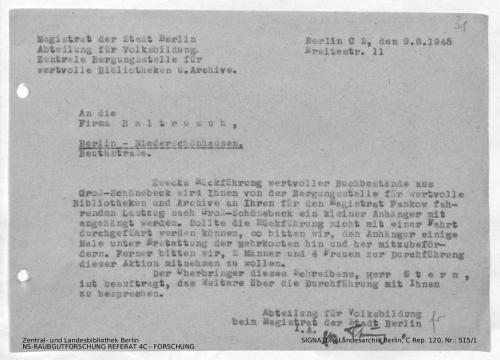 Landesarchiv Berlin, C Rep. 120 Nr. 515/1, Bl. 31