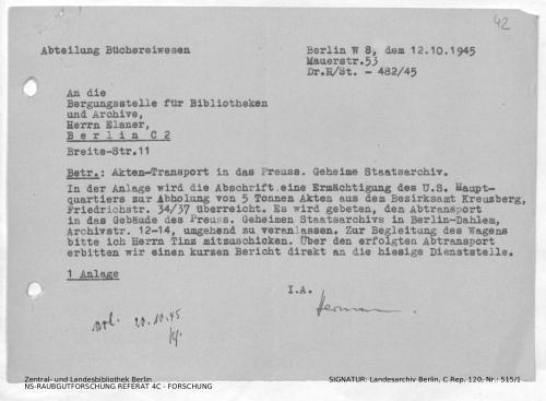 Landesarchiv Berlin, C Rep. 120 Nr. 515/1, Bl. 42