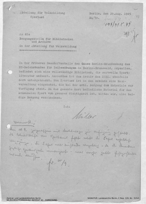 Landesarchiv Berlin, C Rep. 120 Nr. 515/1, Bl. 49