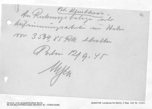 Landesarchiv Berlin, C Rep. 120 Nr. 515/1, Bl. 66