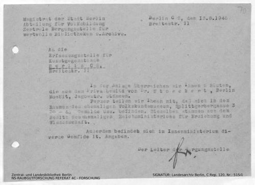 Landesarchiv Berlin, C Rep. 120 Nr. 515/1, Bl. 70