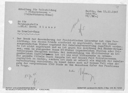 Landesarchiv Berlin, C Rep. 120 Nr. 515/1, Bl. 71