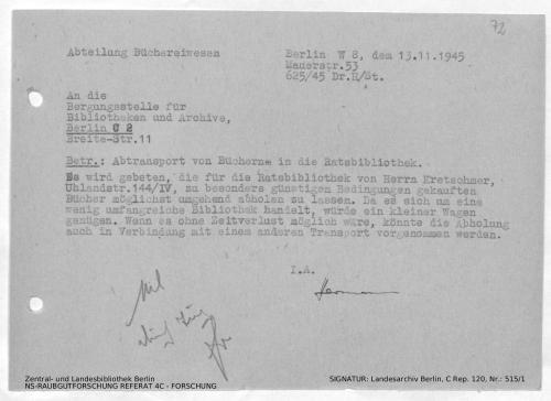 Landesarchiv Berlin, C Rep. 120 Nr. 515/1, Bl. 72