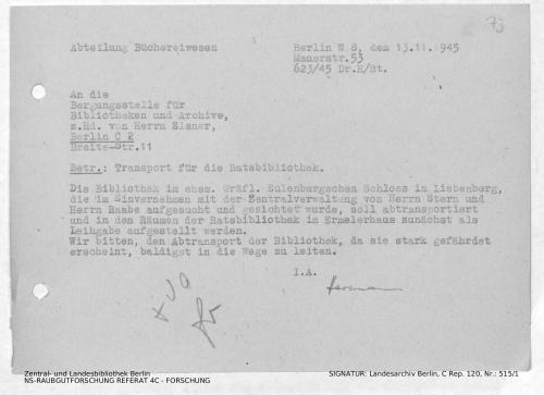 Landesarchiv Berlin, C Rep. 120 Nr. 515/1, Bl. 73
