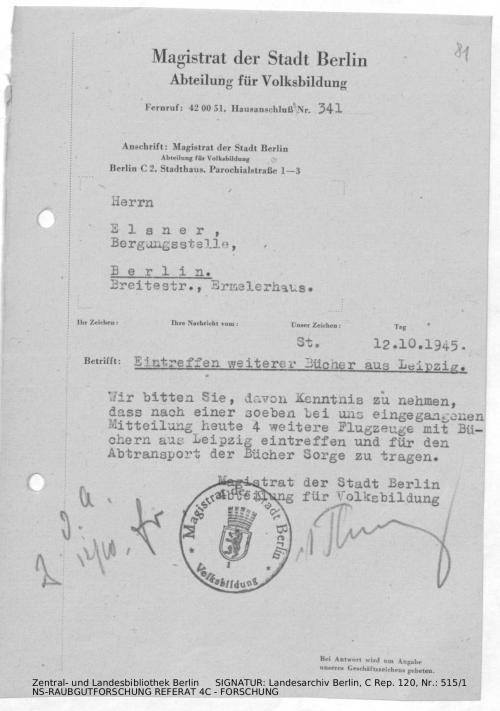 Landesarchiv Berlin, C Rep. 120 Nr. 515/1, Bl. 81
