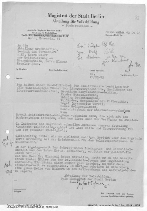 Landesarchiv Berlin, C Rep. 120 Nr. 515/1, Bl. 83