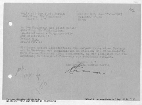 Landesarchiv Berlin, C Rep. 120 Nr. 515/1, Bl. 102