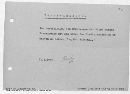 Landesarchiv Berlin, C Rep. 120 Nr. 515/1, Bl. 106