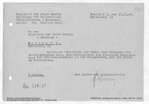 Landesarchiv Berlin, C Rep. 120 Nr. 515/1, Bl. 135
