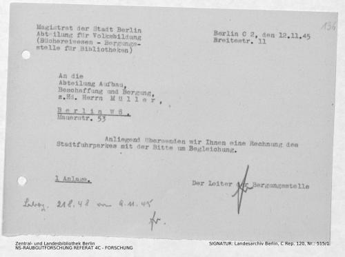 Landesarchiv Berlin, C Rep. 120 Nr. 515/1, Bl. 136