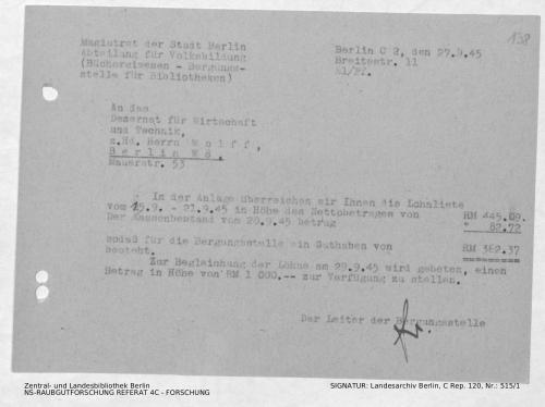 Landesarchiv Berlin, C Rep. 120 Nr. 515/1, Bl. 138